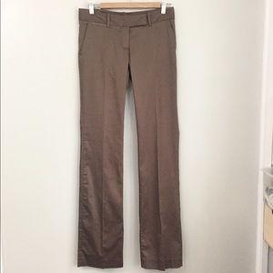 Zara Basic Tan Trousers Size 4